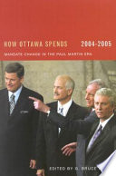 How Ottawa Spends 2004 2005