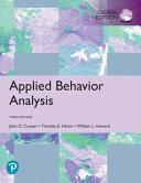 Applied Behavior Analysis Global Edition