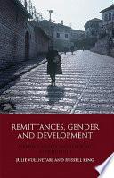 Remittances  Gender and Development