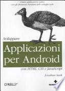 Sviluppare applicazioni per Android con HTML  CSS e JavaScript