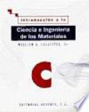 Introducci  n a la ciencia e ingenier  a de los materiales