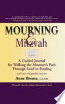 Mourning Mitzvah