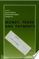 Money  Trade  and Payments