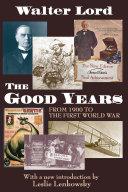 download ebook the good years pdf epub