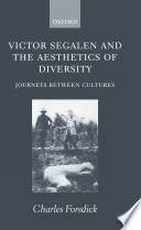 Victor Segalen and the Aesthetics of Diversity