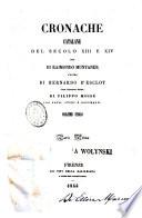 Cronache catalane del secolo 13  e 14
