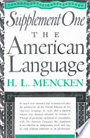 American Language Supplement 1