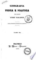 Geografia fisica e politica dell'abbate Luigi Galanti