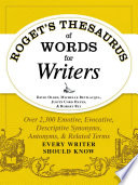Roget s Thesaurus of Words for Writers