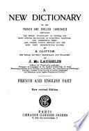 Nouveau Dictionnaire Anglais-français Et Français-anglais