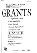 Corporate and Foundation Grants