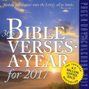 365 Bible Verses A Year for 2017
