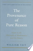 The Provenance of Pure Reason
