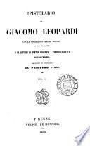 Opere  ed  ordinata e corretta da A  Ranieri  E  Pellegrini e P  Giordani  P  Viani