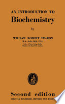 An Introduction to Biochemistry