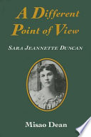 A Different Point Of View : largely informed by nineteenth-century canadian...