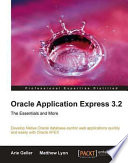 Oracle Application Express 3 2