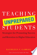 Teaching Unprepared Students