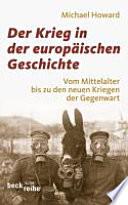 Der Krieg in der europ  ischen Geschichte