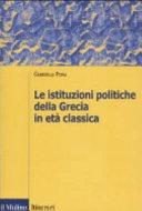 Le istituzioni politiche della Grecia in et   classica