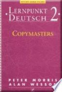 Lernpunkt Deutsch 2 - Copymasters New German Spelling