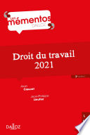 Droit Du Travail 2021 3e Ed