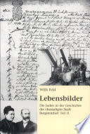Die Juden in der Geschichte der ehemaligen Stadt Burgsteinfurt: Lebensbilder