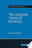 The Linguistic Theory of Numerals