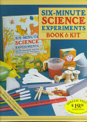 Six Minute Science Experiments Book and Kit