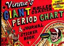 Vinnie s Giant Roller Coaster Period Chart   Journal Sticker Book