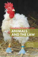 Canadian Perspectives on Animals and the Law