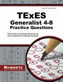 TExES Generalist 4 8 Practice Questions