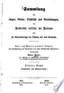 Sammlung der eidgen[össischen] Gesetze, Beschlüsse und Verordnungen, der Konkordate zwischen den Kantonen und der Staatsverträge der Schweiz mit dem Auslande