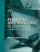 Personnel Administration in Education