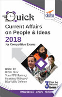 Quick Current Affairs on People & Ideas 2018 for Competitive Exams