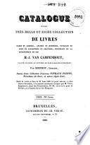Veilingcatalogus, boeken H.J. van Campenhout, 21 juni-7 juli 1830