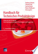 Handbuch f  r Technisches Produktdesign