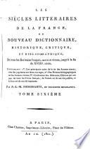 Les siècles littéraires de la France
