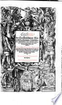 Egesippi  des Hochber  hmten F  rtrefflichen Christlichen Geschichtschreibers  f  nff B  cher  Vom J  dischen Krieg  und endlicher zerst  rung der Herrlichen und gewaltigen Statt Jerusalem