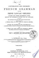 The French language simplified  Lond   c   1856  cm 18