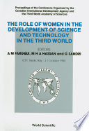Role of Women in the Development of Science and Technology in the Third World