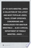 Up to date Minstrel Jokes