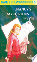 Nancy Drew 08  Nancy s Mysterious Letter
