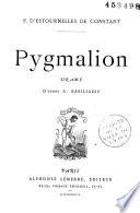 Pygmalion  drame  d apr  s Basiliadis