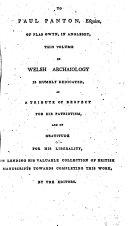 download ebook the myvyrian archaiology of wales pdf epub