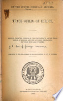 Trade Guilds of Europe