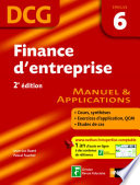 Finance d entreprise     preuve 6   DCG manuel