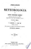Prelezioni di meteorologia