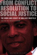 From Conflict Resolution to Social Justice