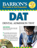 Barron s DAT  Dental Admission Test